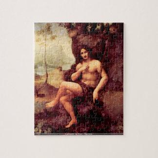 Leonardo da Vinci - Bacchus Rompecabeza Con Fotos
