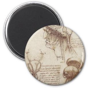 Leonardo da Vinci - Brain Physiology Magnet