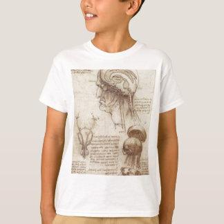 Leonardo da Vinci - Brain Physiology T-Shirt