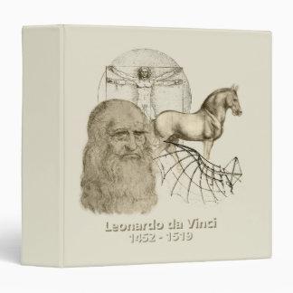 """Leonardo da Vinci Carpeta 1 1/2"""""""