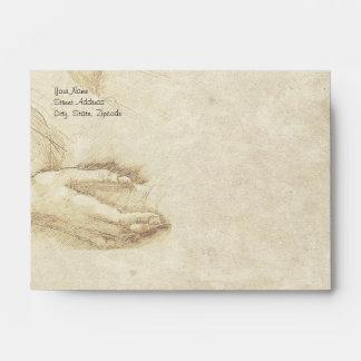 Leonardo da Vinci - Classic Envelope
