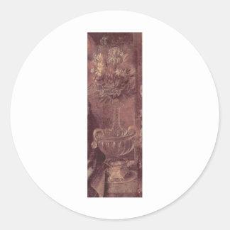 Leonardo da Vinci Classic Round Sticker