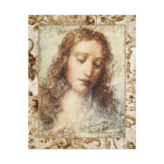 Leonardo Da Vinci Collage Canvas