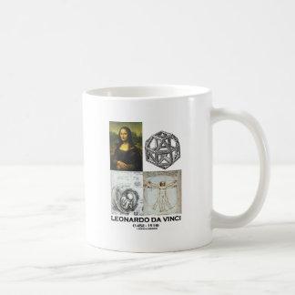 Leonardo da Vinci Collage (Collection of Works) Mugs