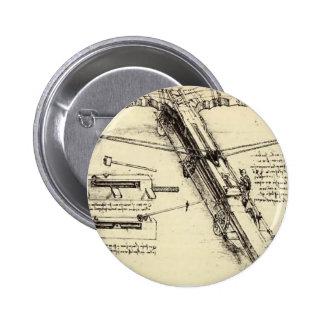 Leonardo da Vinci- Design for a Giant Crossbow Pins