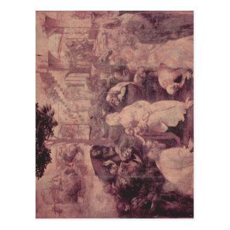 Leonardo da Vinci Die Anbetung der Hl. Drei K?nige Postcards