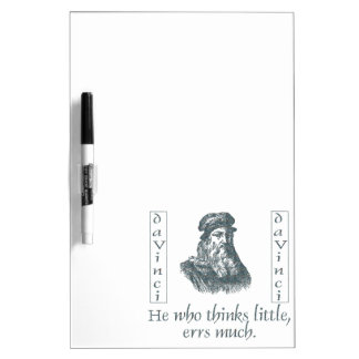 Leonardo da Vinci Dry-Erase Boards