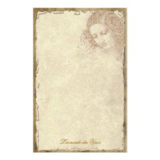 Leonardo da Vinci - efectos de escritorio clásicos Papeleria De Diseño