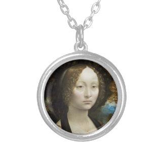 Leonardo da Vinci Ginevra de' Benci Colgantes