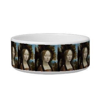 Leonardo Da Vinci Ginevra De' Benci Painting Bowl