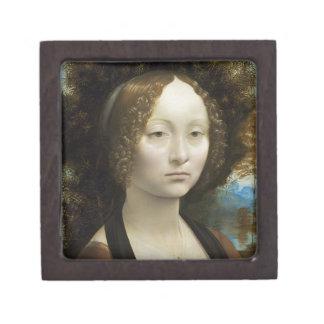 Leonardo Da Vinci Ginevra De' Benci Painting Gift Box