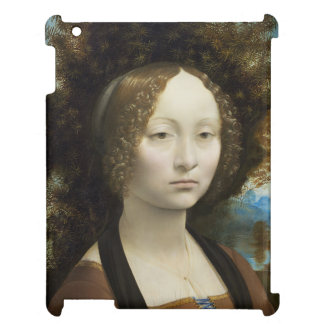 Leonardo Da Vinci Ginevra De' Benci Painting iPad Covers