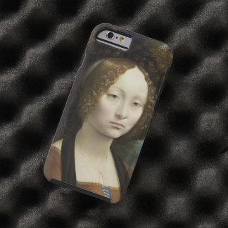 Leonardo Da Vinci Ginevra De' Benci Painting Tough iPhone 6 Case