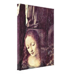 Leonardo da Vinci - Head of the Madonna Stretched Canvas Prints
