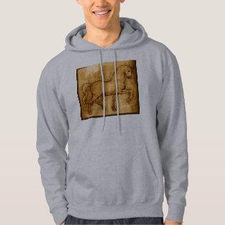 Leonardo Da Vinci Horse Art Hoodie