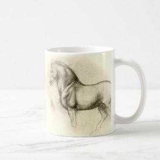 Leonardo-da-Vinci-horse Classic White Coffee Mug
