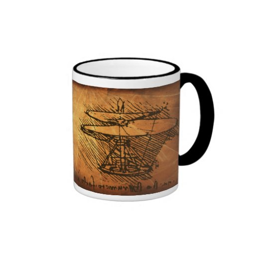 Leonardo da Vinci Inventions Coffee Mug Zazzle