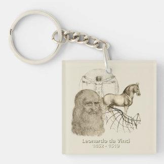 Leonardo da Vinci Keychain