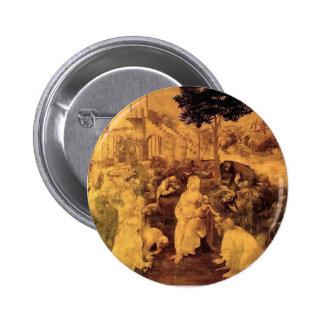 Leonardo DA Vinci- la adoración de unos de los rey Pin