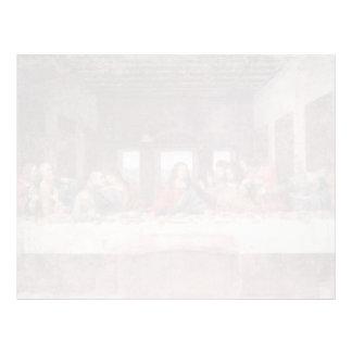 Leonardo DA Vinci- la última cena Plantillas De Membrete