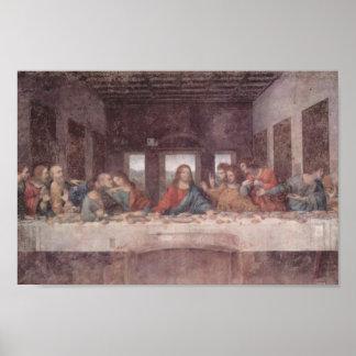 Leonardo DA Vinci- la última cena Posters