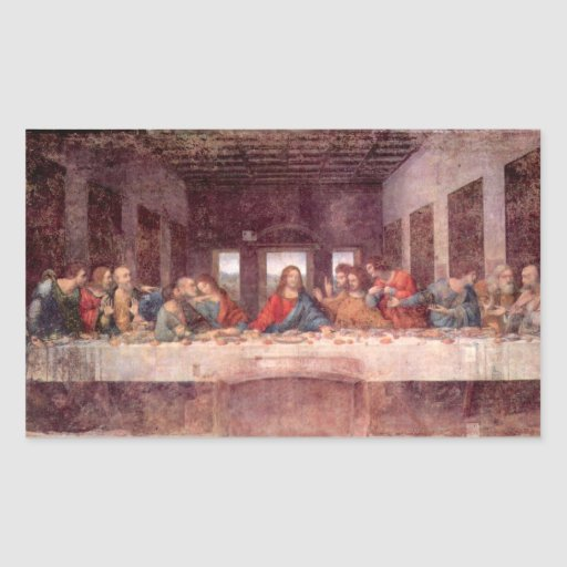Leonardo da Vinci - la última cena Etiquetas