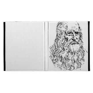 Leonardo da Vinci Line Drawing iPad Folio Covers