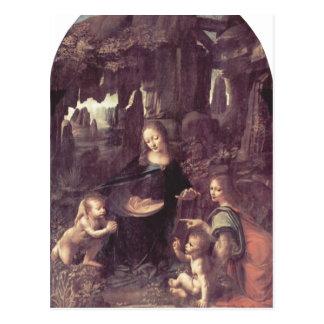 Leonardo da Vinci Madonna en el der Felsengrotte,  Tarjetas Postales