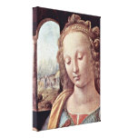 Leonardo da Vinci - Madonna Gallery Wrapped Canvas