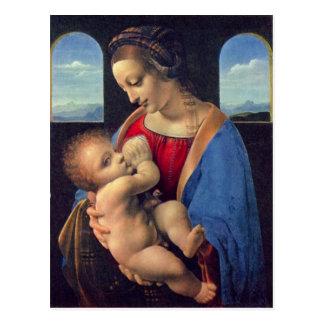 Leonardo da Vinci - Madonna Postcard