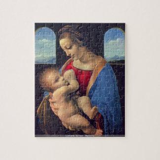 Leonardo da Vinci - Madonna Puzzle Con Fotos
