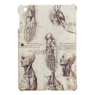 Leonardo Da Vinci Medical sketches, body parts Case For The iPad Mini