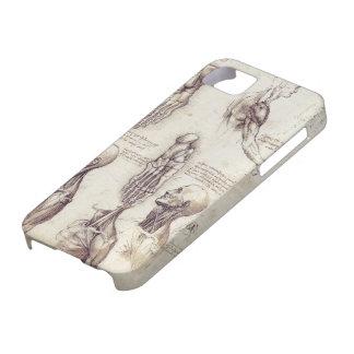 Leonardo Da Vinci Medical sketches, body parts iPhone SE/5/5s Case