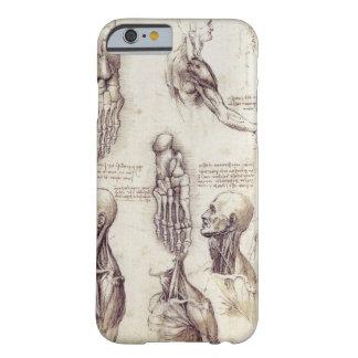 Leonardo Da Vinci Medical sketches body parts iPhone 6 Case