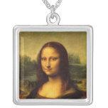 Leonardo da Vinci - Mona Lisa Colgante Cuadrado