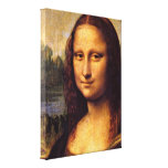 Leonardo da Vinci - Mona Lisa detail Gallery Wrap Canvas