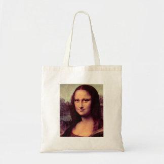Leonardo da Vinci - Mona Lisa (detalle) Bolsa