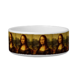 Leonardo Da Vinci Mona Lisa Fine Art Painting Bowl