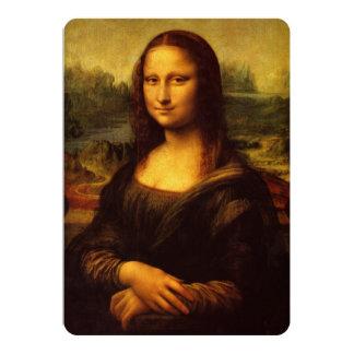 Leonardo Da Vinci Mona Lisa Fine Art Painting Card