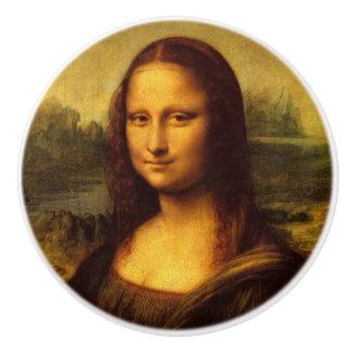 Leonardo Da Vinci Mona Lisa Fine Art Painting Ceramic Knob