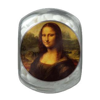 Leonardo Da Vinci Mona Lisa Fine Art Painting Jelly Belly Candy Jars