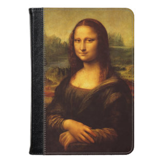 Leonardo Da Vinci Mona Lisa Fine Art Painting Kindle Case at Zazzle
