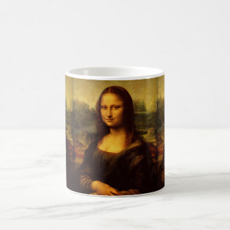 Leonardo Da Vinci Mona Lisa Fine Art Painting Magic Mug
