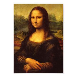 Leonardo Da Vinci Mona Lisa Fine Art Painting Magnetic Card