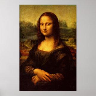 Leonardo Da Vinci Mona Lisa Fine Art Painting Poster