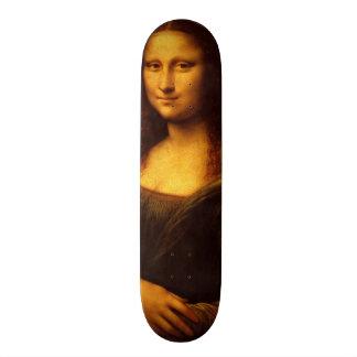 Leonardo Da Vinci Mona Lisa Fine Art Painting Skateboard