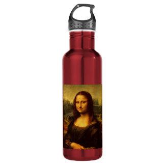 Leonardo Da Vinci Mona Lisa Fine Art Painting Stainless Steel Water Bottle