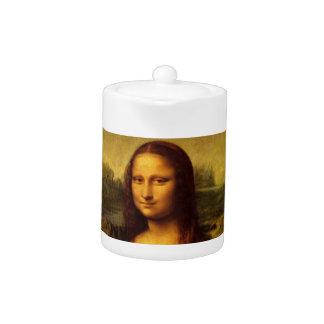 Leonardo Da Vinci Mona Lisa Fine Art Painting Teapot