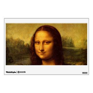Leonardo Da Vinci Mona Lisa Fine Art Painting Wall Sticker