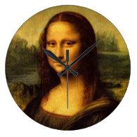 Leonardo Da Vinci Mona Lisa Fine Art Painting Wallclock